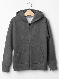 Gap Gym Zip Hoodie - Charcoal heather