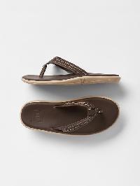 Gap Surf Flip Flops - Sable brown
