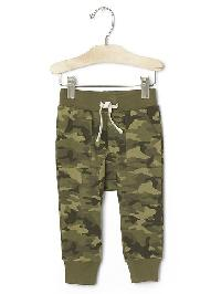 Gap Terry Pocket Pants - Green