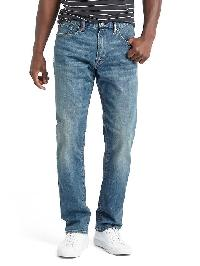 Gap Athletic Taper Fit Jeans - Medium wash