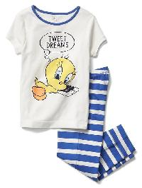 Gapkids &#124 Looney Tunes Capri Pj Set - New off white