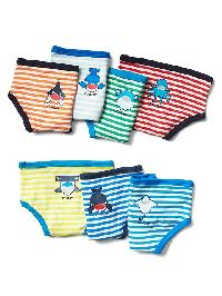 Gap Sea Life Days Of The Week Briefs (7 Pairs) - Multi