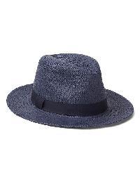 Gap Southwestern Straw Panama Hat - Navy