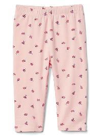 Gap Print Leggings - Pink cameo