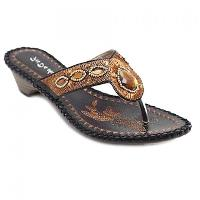Bohemian Embroidery and Rhinestone Design Slippers For Women - BLACK