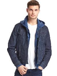 Gap Icon Denim Jacket - Rigid denim