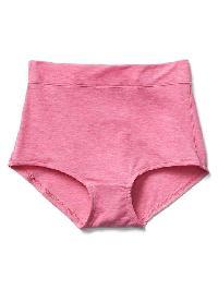 Gap Breathe High Waist Bikini - Happy pink