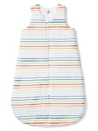 Gap Favorite Stripe Sleep Bag - White