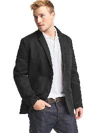 Gap Classic Stretch Blazer - True black