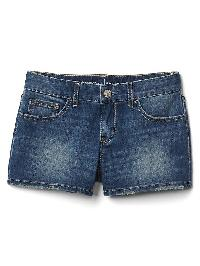 Gap Stretch Distressed Cuff Shorty Short - Medium wash