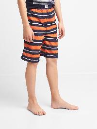 Gap Print Pj Shorts - Tangy orange