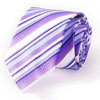 Stylish Various Twill Pattern 7CM Width Tie For Men - VIOLET ROSE