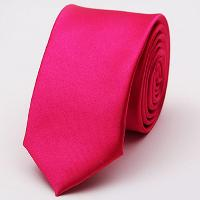 Stylish Various Candy Colors 5CM Width Tie For Men - ROSE