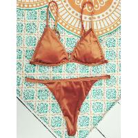 Reversible Pleuche Bikini Set - JACINTH
