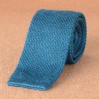 Casual Woven Neck Tie - LIGHT BLUE