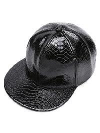 Crocodile Pattern PU Baseball Hat