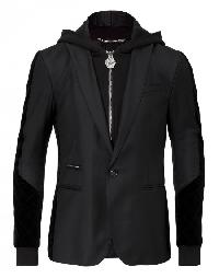 """hooded blazer """"festivity"""""""