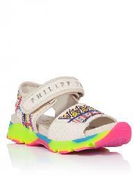 """Sandals Wedges """"Aquamarine"""""""
