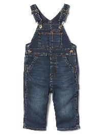 Gap 1969 Supersoft Denim Overalls - Medium indigo 25
