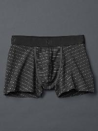 Gap Stripe Stretch Trunks - Soft black