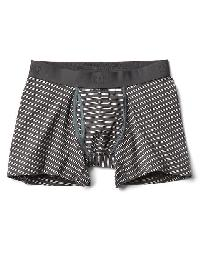 Gap Stripe Boxer Briefs - Soft black