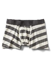 Gap Stripe Stretch Trunks - Classic gray stripe