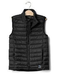 Gap Coldcontrol Lite Quilted Vest - True black