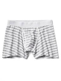 Gap Stripe Boxer Briefs - Gray stripe