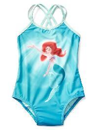 Babygap &#124 Disney Baby Princess Swim One Piece - Mermaid