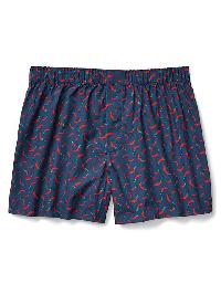 Gap Print Boxers - Red pepper