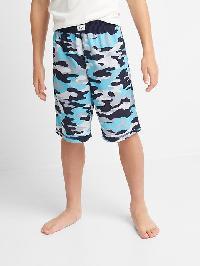 Gap Print Pj Shorts - Pool