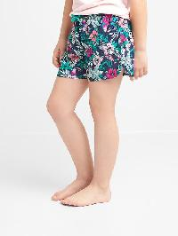 Gap Print Pj Shorts - Elysian blue