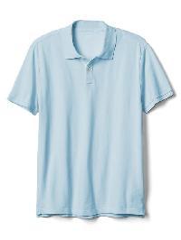Gap Solid Pique Polo - Essential blue