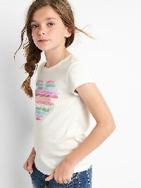 Gap Foil Graphic Short Sleeve Tee - New off white