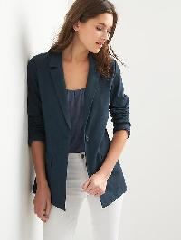 Gap Ponte Blazer - Navy heather