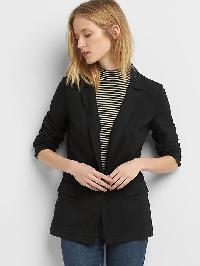 Gap Ponte Blazer - True black