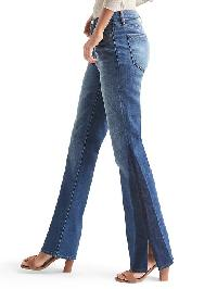 Gap Authentic 1969 Two Tone Perfect Boot High Rise Jeans - Dark indigo