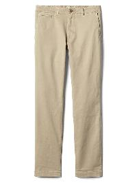 Gap Stretch Vintage Wash Skinny Fit Khakis - Iconic khaki