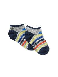 Gap Print No Show Socks - Multi stripe