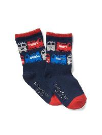 Gap Graphic Socks - Ao firetruck