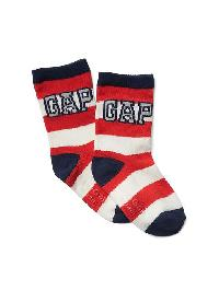 Gap Graphic Socks - Red stripe gap