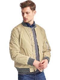 Gap Lightweight Bomber Jacket - Iconic khaki