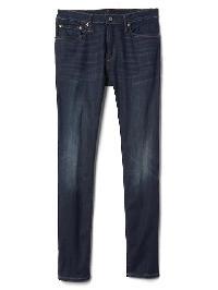 Gap Super Skinny Fit Jeans (Stretch) - Worn dark
