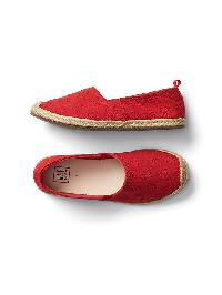Gap Slip On Espadrilles - Pepper red