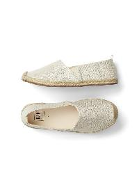 Gap Slip On Espadrilles - Shine