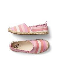 Gap Slip On Espadrilles - Multi stripe