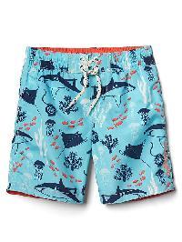 Gap Undersea Swim Trunks - Swimming blue