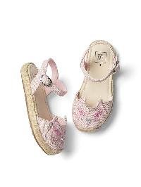 Gap Cat Espadrille Sandals - Light pink
