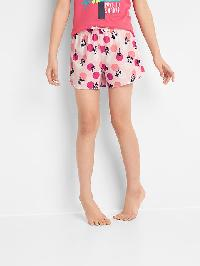 Gap Print Pj Shorts - Pink
