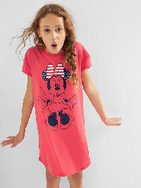 Gapkids &#124 Disney Short Sleeve Nightgown - Rosehip 755
